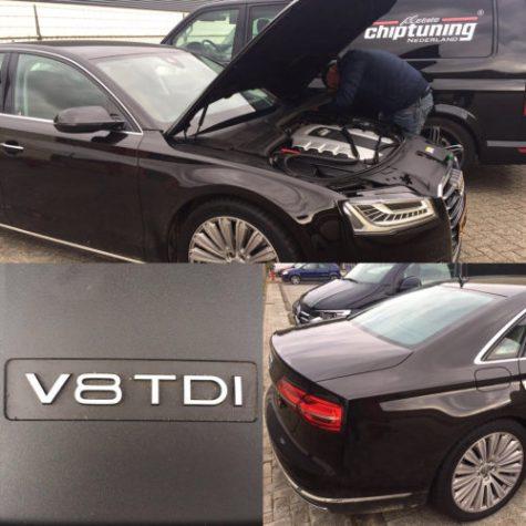 Chiptuning Audi A8 D4 4200 TDI 351 PK