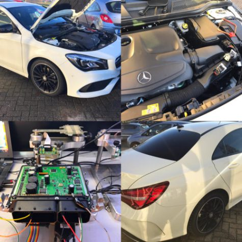 Chiptuning Mercedes CLA 180