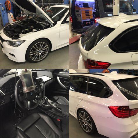 chiptuning BMW F30 320d