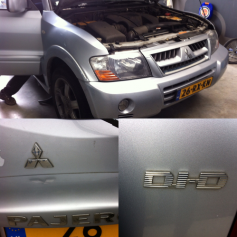 chiptuning Mitsubishi Pajero DID