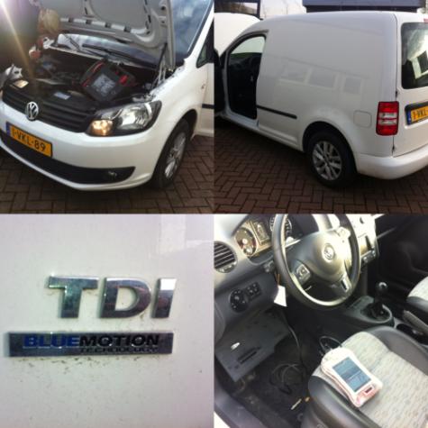 chiptuning VW Caddy 1.6 TDI 75 pk