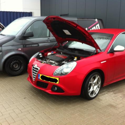 Chiptuning Alfa Giulietta 1.8 TBI 235 pk