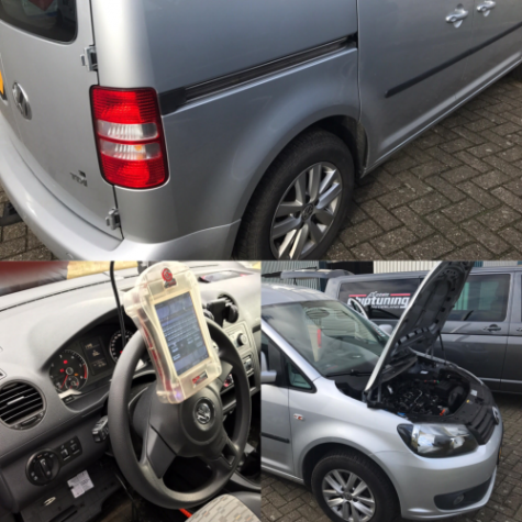 chiptuning vw caddy 105 pk