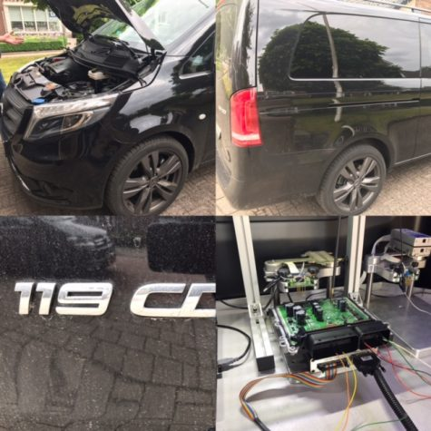 Chiptuning Mercedes Vito 119