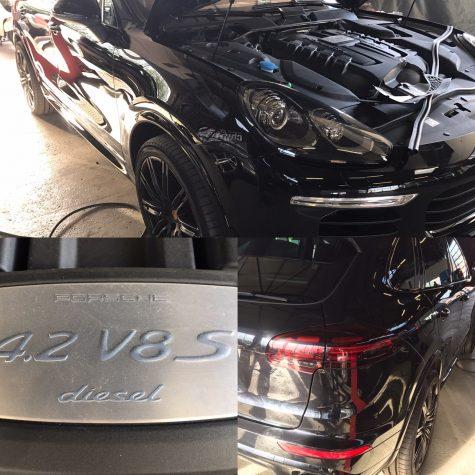 Chiptuning Porsche Cayenne 4200 TDI