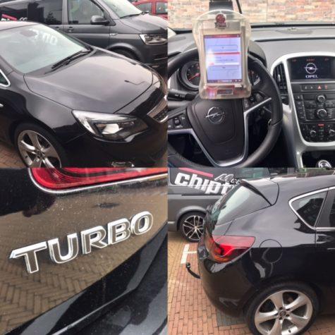 Chiptuning Opel Astra 1400t 120pk