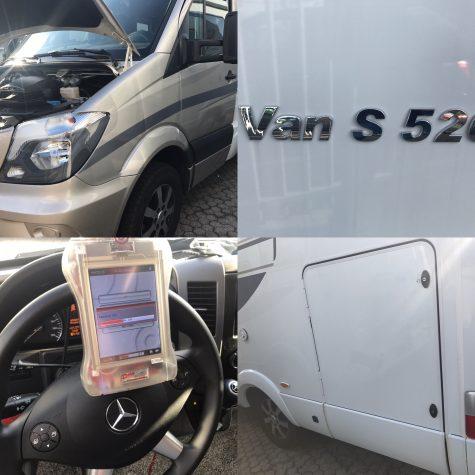 Chiptuning Mercedes Sprinter 316 CDI camper