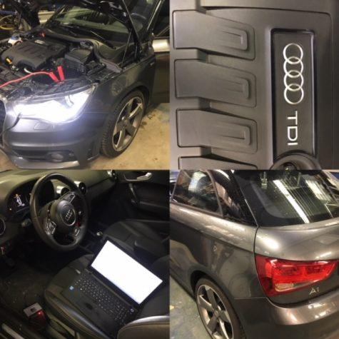 Chiptuning Audi A1 1600 TDI