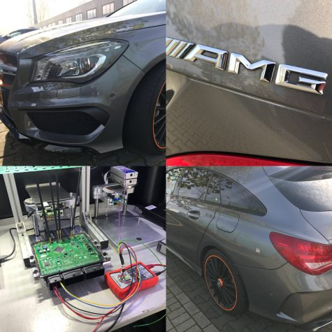 Chiptuning Mercedes CLA AMG