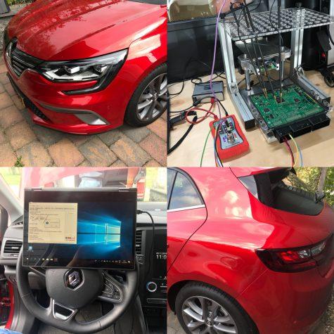 Chiptuning Renault Megane 1500 DCI 110 PK 2018