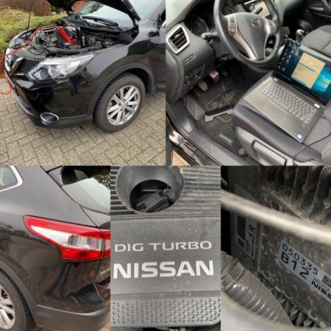 Chiptuning Nissan Qashqai 1600 DIG-T Hitachi