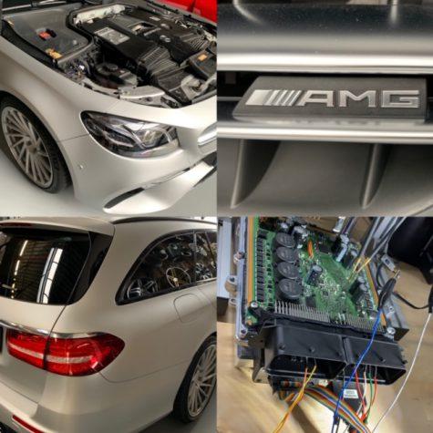 Mercedes E63 AMG V8 585 pk