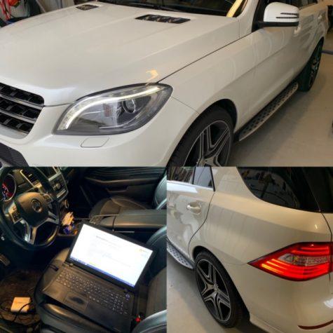 Mercedes ML 350 CDI 258 pk